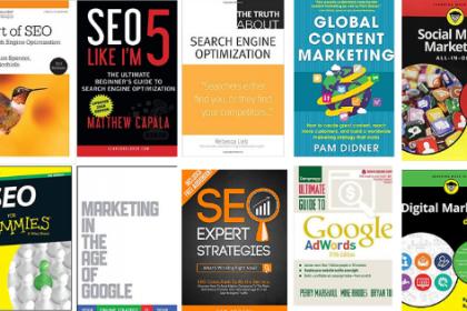 بهترین آموزش های سئو و دیجیتال مارکتینگ در 5 کتاب
